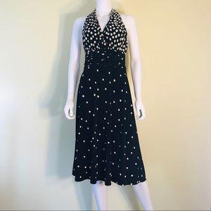 Polka Dot Marilyn Monroe Night Out Dress